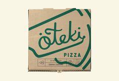 Brand Design for Öteki Pizza / World Brand Design Society Pizza Branding, Brand Identity Design, Design Agency, Brand Design, Set Design, Pizza Box Design, Pizza Boxes, Creativity And Innovation, Letter Logo