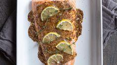 Roasted Salmon with Honey-Dijon Glaze Recipe