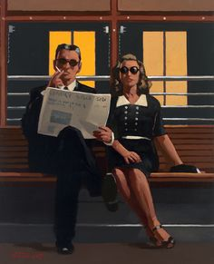 A Very Married Couple - Jack Vettriano