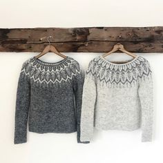 Diy Crafts - Ravelry: Altheda pattern by Jennifer Steingass Knitting Designs, Knitting Projects, Knitting Patterns, Free Knitting, Icelandic Sweaters, Wool Sweaters, Knitting Sweaters, Handgestrickte Pullover, Fair Isle Knitting