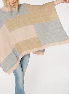 71b46990e Missoni - Fringed Metallic Crochet-knit Poncho - Lyst   Ponchos ...