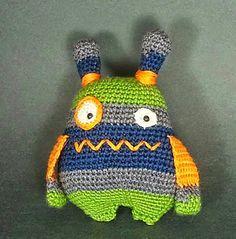 2000 Free Amigurumi Patterns: Javier the Monster Hunter: free Amigurumi crochet pattern