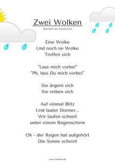 Regentropfen klopfen