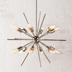 Langley Street Corona 12 Light Cluster Pendant