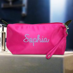 Personalized Embroidered Essentials Bag