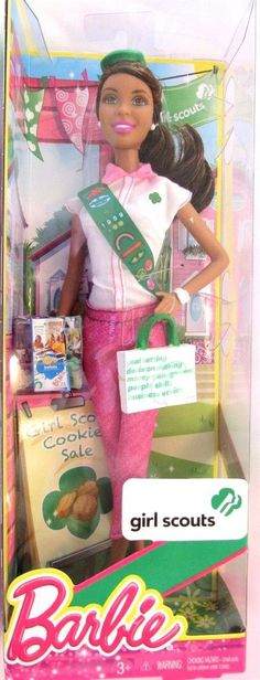 Barbie Girl Scouts Collector Doll African American Edition #Mattel #DollswithClothingAccessories