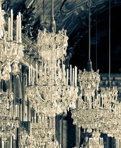 """Lustre baroque à pampilles, gamme  """"tradition"""""""
