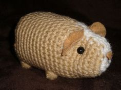 Amigurumi Guinea Pig : Learn to crochet adorable amigurumi with coveted patterns and