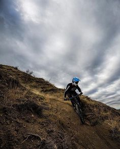 """Love early morning light and overcast skies."" @kjel_erickson in Lethbridge #Canada  Weekend Project - Singletrack Attack (4 of 4). More features over on the REI blog. Link in profile. #OptOutside by rei"