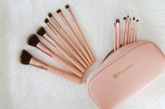 bh cosmetics chic brush set