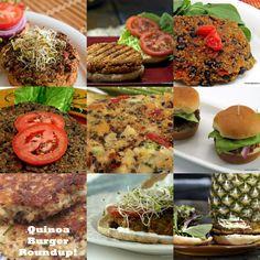 Quinoa burger recipes