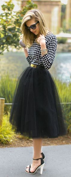 33 lbs! Fabulous tulle skirt outfit!