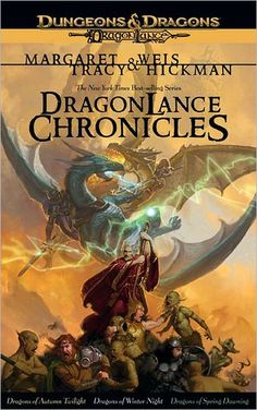 Dragonlance Chronicles Trilogy: A Dragonlance Omnibus by Maragret Weis & Tracy Hickman