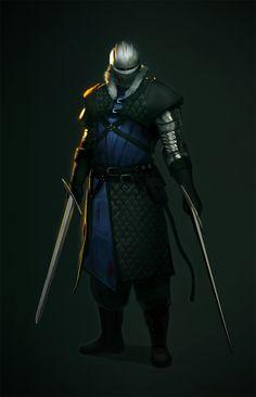 Swordsman by TVviST.deviantart.com on @DeviantArt