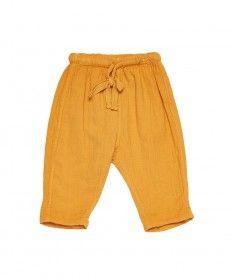 Dunlin Baby Trouser, Mango, 3m