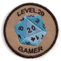 level 20 gamer merit badge