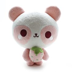 Strawberry Panda Plush
