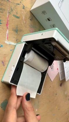 Cool Gadgets To Buy, Spy Gadgets, Electronics Gadgets, Useful Life Hacks, Amazing Life Hacks, Best Amazon Buys, Mobile Printer, Everyday Hacks, Thermal Printer