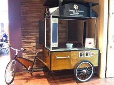 The University of Colorado plans to roll out its new coffee cart this summer…