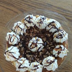 Cheesecake Factory: Snickers Cheesecake  @keyingredient #cheese #cheesecake