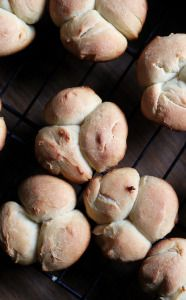 Homemade dinner rolls don't get easier than these! Ready in an hour, they are light, fluffy, and the perfect accompaniment to soups, stews, and chilis.