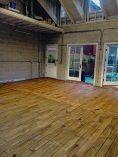 Charleston West Virginia Concrete Wood Resurfacing