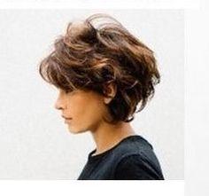 New Hair Long Volume Short Hairstyles 35 Ideas Short Curly Hair, Long Hair Cuts, Wavy Haircuts, Cool Hairstyles, Volume Hairstyles, Volume Haircut, Medium Hair Styles, Curly Hair Styles, Great Hair