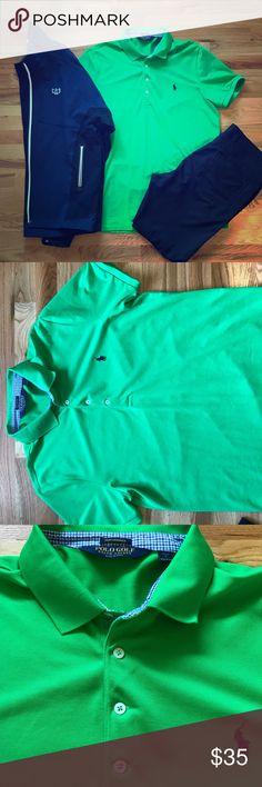 Polo Golf Ralph Lauren Men's Green Polo Kelly/Apple green Men's polo by Polo Golf. Pro fit Polo by Ralph Lauren Shirts Polos