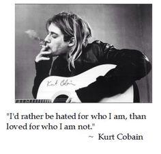 Cobain's wisdom