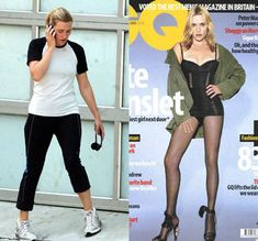 The best part of this photoshop disaster was how mad Kate Winslet got.