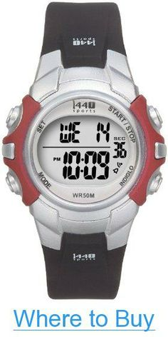 0027bfd07d7 Amazon.com  Timex Unisex T5G841 1440 Sports Digital Silver-Tone Black Resin Strap  Watch  Timex  Watches