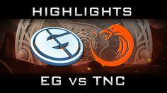 EG vs TNC The International 2016 TI6 Highlights Dota 2