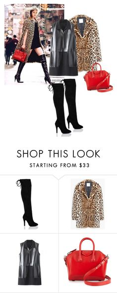 """""""Untitled #326"""" by stelastela ❤ liked on Polyvore featuring MANGO, Givenchy, women's clothing, women, female, woman, misses and juniors"""