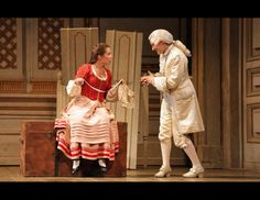 The Marriage of Figaro - Adriana Kučerová as Susanna, Marie Lenormand as Cherubino   Credit: Felix Sanchez  #examinercom