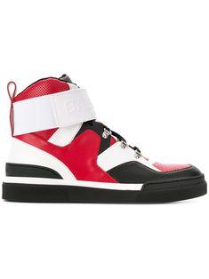 Balmain& Cleveland High-Top Sneakers HztvRVE