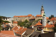 Top 10 Most Adorable Towns in Europe - Cesky Krumlov, California Globetrotter Back Road, Medieval Town, Czech Republic, Prague, Travel Photos, Europe, California, Explore, Mansions