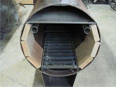 Wood Boiler Project. Wood Burning Furnace, Wood Burning Heaters, Diy Heater, Pool Heater, Outdoor Kitchen Patio, Outdoor Stove, Outdoor Fire, Wood Stove Heater, Pellet Stove
