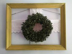 Check out this item in my Etsy shop https://www.etsy.com/uk/listing/530988166/dried-boxwood-wreath-wall-hanging-with