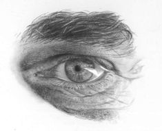 Eye Drawing tutorial - How to draw Realistic Eyes
