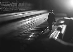 Wonderful Conceptual Photo manipulations by 14 Year Old Photographer Fiddle Oak miniature conceptual black and white