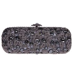 Fawziya Baguette Flower Purses With Rhinestones Crystal Evening Clutch Bags -- Additional details at the pin image, click it  : Evening Handbags