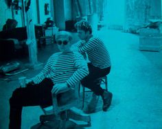 1960s Andy Warhol FACTORY Gerard Malanga Striped Shirts vintage photo by Christian Montone on Flickr.