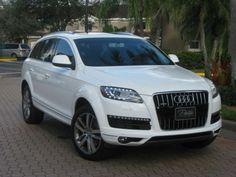 Audi Q7 TDI Premium Plus | the only suv I don't mind in white