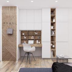 Small Space Office, Home Office Space, Home Office Design, Home Interior Design, Office Furniture Design, Workspace Design, Room Design Bedroom, Diy Bedroom Decor, Home Decor