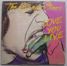 Rolling Stones Love You Live . – LP Vinyl Record Hecho en Venezuela