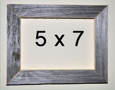 5 x 7 Driftwood Picture Frame 311 by DriftwoodMemories on Etsy