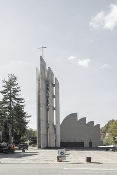 Riola di Vergato, an hour far from Bologna Alvar Aalto, Alba Deangelis · Church of the Assumption of Mary