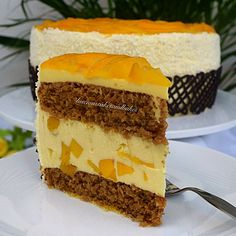 Mango Buttermilk Torte - The recipe for this light and delicious cake is now on my website http://lusciouscakesandbakes.com/recipe/mango-buttermilk-torte/