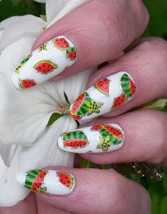 Charlies Nail Art - Water melon nail art foil, £0.39 (http://www.charliesnailart.co.uk/water-melon-nail-art-foil/) #nails #naildesign #nailart #nailfoils #nailideas #nailshop #nailswag