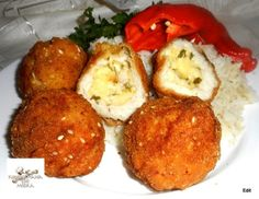 Diabetic Recipes, My Recipes, Diet Recipes, Chicken Recipes, Croatian Recipes, Deli, Baked Potato, Food And Drink, Lunch
